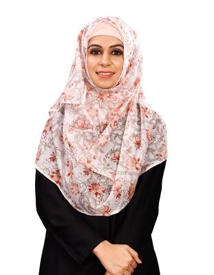 JSDC Women's Free Size Floral Printed BSY Magic Scarf Hijab Dupatta