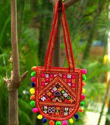 MultiColor  Cotton Kutch  HandBag