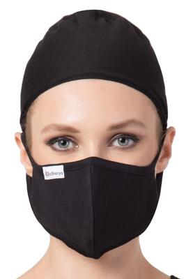 2 Pcs Set-Under Hijab Tie Up Cap and Mask Combo