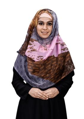 JSDC Free Size Printed BSY Magic Scarf Hijab Dupatta For Women