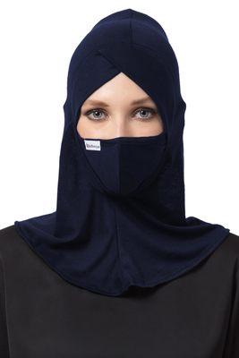 2 Pcs Set-Ninja Cap and Mask Combo