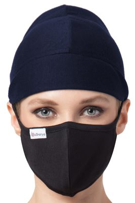 2 Pcs Set-Under Hijab Full Cap and Mask Combo