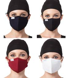 5 Pcs Set-Under Hijab Cap and Mask Combo