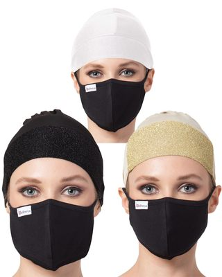 Under Hijab Cap and Mask Combo