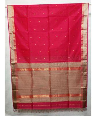 RANI  woven cotton silk saree with blouse