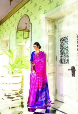 Aurima Kota Silk Designer Saree For Women
