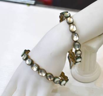 Antique Kundan Silgle Line