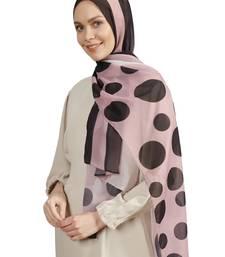JSDC Daily Wear Polka Dot Printed Scarf Hijab Dupatta For Women