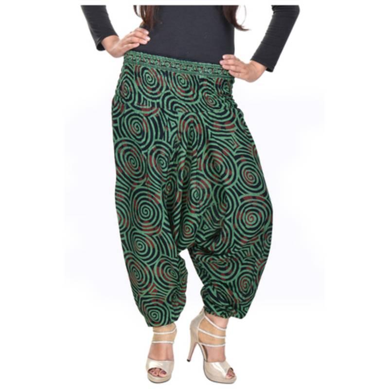 Buy Cotton Printed Aladin harem Pant Online
