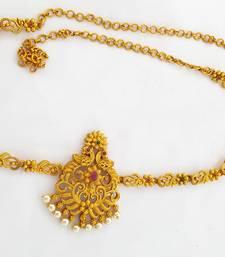 Gold bridal-kamarband