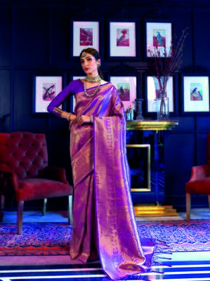 Aurima Soft Weaving Silk Designer Saree For Women