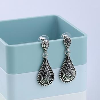 Exclusive Oxidised silver Party Wear Dangle Earring For Women Girl