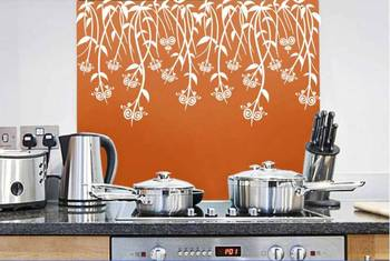 kitchen vine wall decal