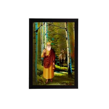 eCraftIndia Gurunanak Sahib Satin Matt Texture UV Art Painting