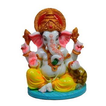 Colorful Lord Ganesha Statue