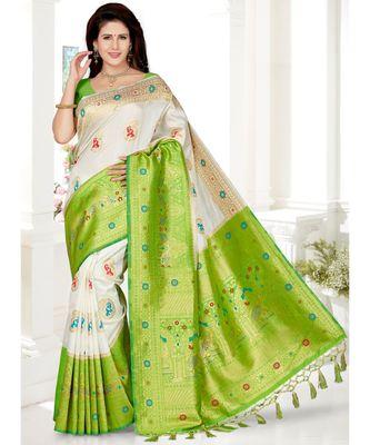 Traditional Designer Weaving Silk Saree
