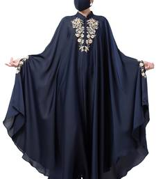 Musheco-Irani Kaftan With Chikan And Zari Embroidery Work