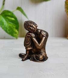 Buy Polyresin Resting Buddha on Knee new-year-gift online