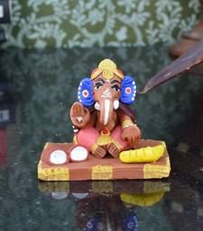 Buy Teracotta Spritual Lord Ganesha congratulation-gift online
