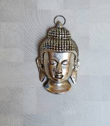 Buy Metal Resting Buddha on Knee wall-art online