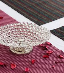 Buy Decorative Crystal Fruit Platter decorative-plate online