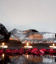 Buy Divine Reclining Buddha Tea Light Holder - Silver thanksgiving-gift online