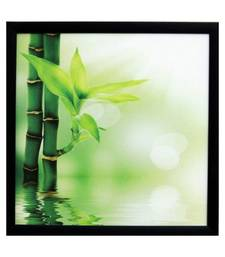 Buy 3D Beautiful Plant Design Satin Matt Texture Framed UV Art Print painting online