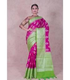 Semi Silk Alfi Banarasi Saree
