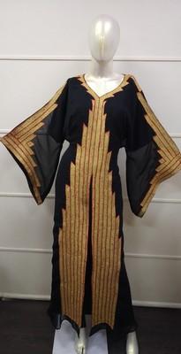 TRADITIONAL ARABIC MAXI DRESS FARASHA MOROCCAN MAXI TEA PARTY ABAYA TURKISH EMBROIDERY CAFTAN 2256