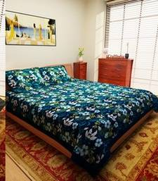 Buy Set of 3 Jaipuri Print Cotton Double Bedsheet with 2 Pillow Cover bed-sheet online
