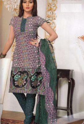 Cotton Dress Material Elegant Designer Unstitched Salwar Suit D.No 3182
