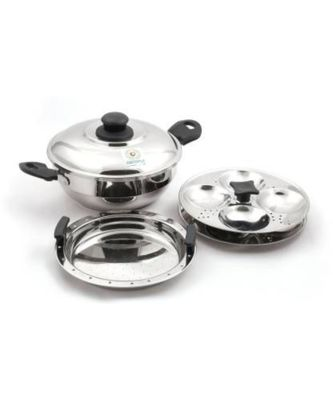 coconut Stainless Steel 8 Idly Steamer
