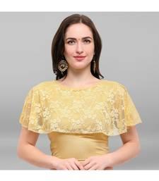 Janasya Women's Cotton Lycra Stitch Blouse