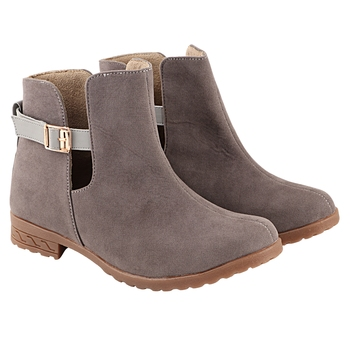 Do Bhai Women  Solid Boots