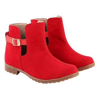 Do Bhai Women  Solid Boots