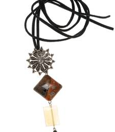 Brown agate necklaces