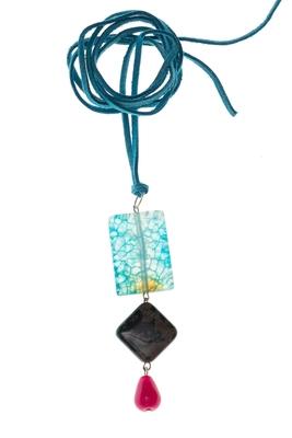 Multicolor agate necklaces