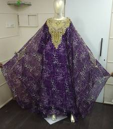 MOROCCAN DUBAI KAFTAN ABAYA DRESS FANCY LONG GOWN BEACH WEAR TIGER PRINT 1850