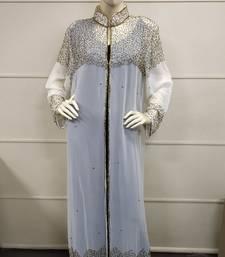 MOROCCAN DUBAI KAFTAN ABAYA DRESS FANCY LONG GOWN BEACH WEAR JACKET 0329