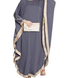 Kaftan With Brocade Border - Not An Abaya
