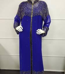 MOROCCAN DUBAI KAFTAN ABAYA DRESS FANCY LONG GOWN BEACH WEAR JACKET 4035