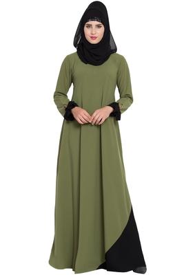 New Design Abaya Dress with Designer Sleeves