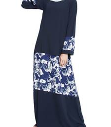 Floral Long Dress- Not An Abaya
