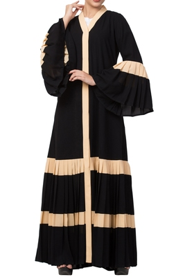 Front Open Abaya Dress