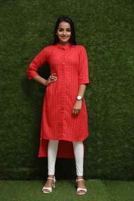Women Red Designer Kurti