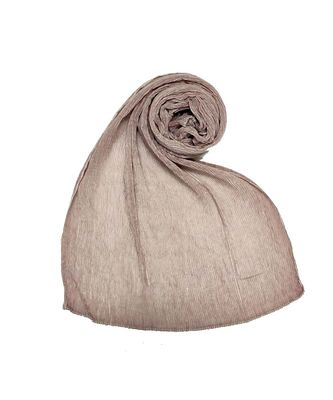 Stole For Women - All Time Best Seller - Crinkled Cotton Mesh Sparkling Women's Stole - Purplish Purple