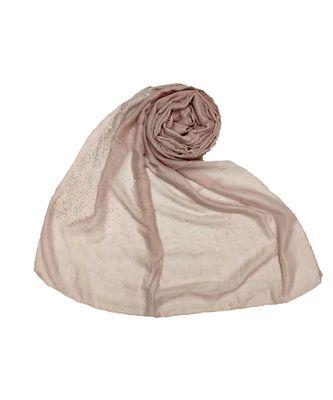 Stole For Women - RESTOCKED - BEST SELLER BACK IN STOCK - Premium Cotton Rain Drop Hijab - Purplish Purple