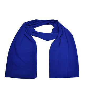 Premium Rich Chiffon Fabric - Best For All Season's - Hijabs That Don't Slip - Premium Plain Chiffon Hijab - Blue