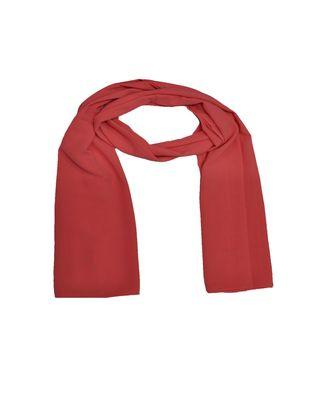 Premium Rich Chiffon Fabric - Best For All Season's - Hijabs That Don't Slip - Premium Plain Chiffon Hijab - Orange