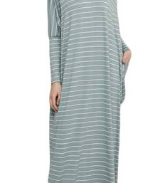JSDC Women Casual Wear Printed Long Gown Kaftan